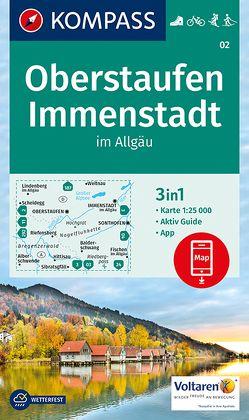 Oberstaufen, Immenstadt im Allgäu von KOMPASS-Karten GmbH