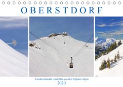 Oberstdorf. Atemberaubende Ansichten aus den Allgäuer Alpen (Tischkalender 2020 DIN A5 quer) von M. Laube,  Lucy