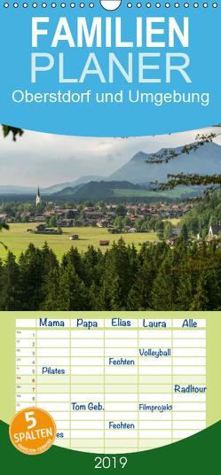 Oberstdorf und Umgebung – Familienplaner hoch (Wandkalender 2019 , 21 cm x 45 cm, hoch) von Schickert,  Peter
