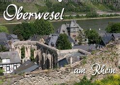Oberwesel am Rhein (Wandkalender 2018 DIN A2 quer) von Berg,  Martina