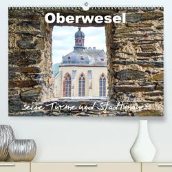 Oberwesel – seine Türme und Stadtmauer (Premium, hochwertiger DIN A2 Wandkalender 2020, Kunstdruck in Hochglanz) von Schwarze,  Nina