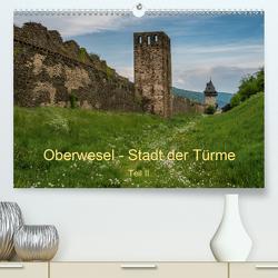 Oberwesel – Stadt der Türme II (Premium, hochwertiger DIN A2 Wandkalender 2020, Kunstdruck in Hochglanz) von Hess,  Erhard