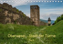 Oberwesel – Stadt der Türme II (Tischkalender 2020 DIN A5 quer) von Hess,  Erhard
