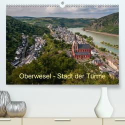 Oberwesel – Stadt der Türme (Premium, hochwertiger DIN A2 Wandkalender 2020, Kunstdruck in Hochglanz) von Hess,  Erhard