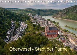 Oberwesel – Stadt der Türme (Tischkalender 2019 DIN A5 quer) von Hess,  Erhard