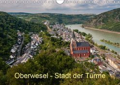 Oberwesel – Stadt der Türme (Wandkalender 2019 DIN A4 quer) von Hess,  Erhard