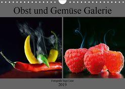 Obst und Gemüse Galerie (Wandkalender 2019 DIN A4 quer) von Laue,  Ingo