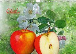 Obst (Wandkalender 2019 DIN A4 quer) von Lutzius,  Manfred