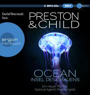 Ocean – Insel des Grauens von Bierstedt,  Detlef, Child,  Lincoln, Czwikla,  Frauke, Preston,  Douglas