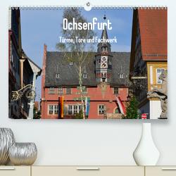 Ochsenfurt – Türme, Tore und Fachwerk (Premium, hochwertiger DIN A2 Wandkalender 2020, Kunstdruck in Hochglanz) von Oechsner,  Richard