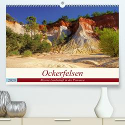 Ockerfelsen – Bizarre Landschaft in der Provence (Premium, hochwertiger DIN A2 Wandkalender 2020, Kunstdruck in Hochglanz) von LianeM