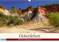Ockerfelsen – Bizarre Landschaft in der Provence (Wandkalender 2019 DIN A3 quer) von LianeM
