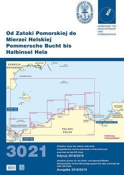 Od Zatoki Pomorskiej do Mierzei Helskiej (Pommersche Bucht bis Halbinsel Hela) von Bundesamt für Seeschifffahrt und Hydrographie