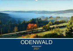 Odenwald – Impressionen (Wandkalender 2021 DIN A2 quer) von Bartruff,  Thomas