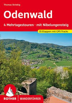 Odenwald Mehrtagestouren von Striebig,  Thomas