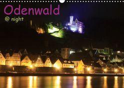 Odenwald @ night / Geburtstagskalender (Wandkalender 2019 DIN A3 quer) von Kropp,  Gert