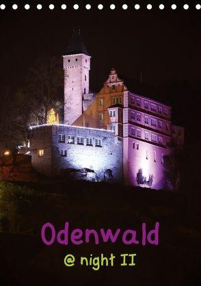 Odenwald @ night II (Tischkalender 2018 DIN A5 hoch) von Kropp,  Gert