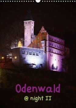 Odenwald @ night II (Wandkalender 2018 DIN A3 hoch) von Kropp,  Gert