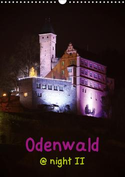 Odenwald @ night II (Wandkalender 2021 DIN A3 hoch) von Kropp,  Gert