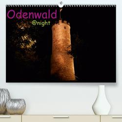 Odenwald @ night (Premium, hochwertiger DIN A2 Wandkalender 2021, Kunstdruck in Hochglanz) von Kropp,  Gert