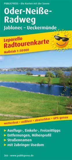 Oder-Neiße-Radweg, Jablonec – Ueckermünde