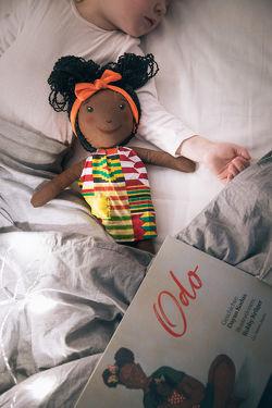 Odo Kinderbuch und Odo Puppe von Kodua,  Dayan
