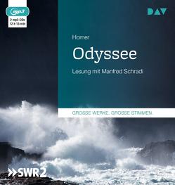 Odyssee von Homer, Schradi,  Manfred, Voß,  Johann Heinrich