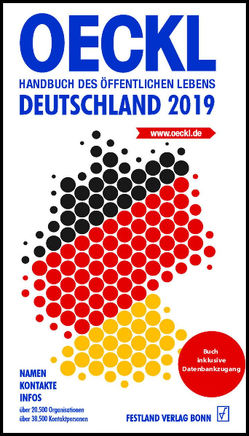 OECKL. Handbuch des Öffentlichen Lebens – Deutschland 2019. Buchausgabe von Kuss,  Brigitte, Oeckl,  Albert