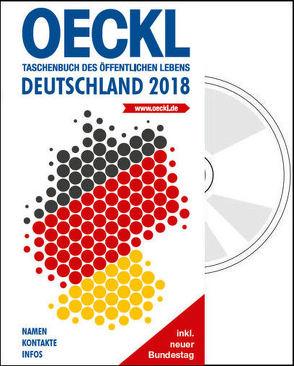 OECKL. Taschenbuch des Öffentlichen Lebens – Deutschland 2018 – Kombi-Ausgabe (Buch + CD-ROM) von Kuss,  Brigitte, Oeckl,  Albert