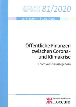 Öffentliche Finanzen zwischen Corona- und Klimakrise von Junkernheinrich,  Martin, Lange,  Joachim