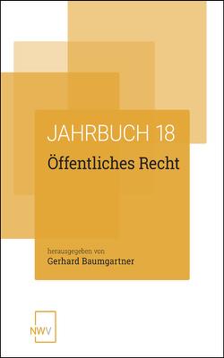 Öffentliches Recht von Baumgartner,  Gerhard