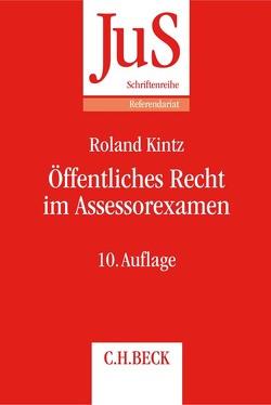 Öffentliches Recht im Assessorexamen von Kintz,  Roland
