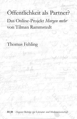 Öffentlichkeit als Partner? von Fehling,  Thomas