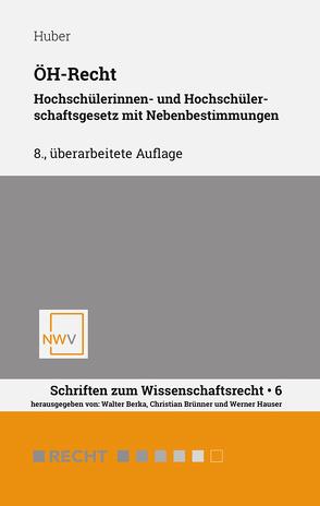 ÖH-Recht von Huber,  Stefan