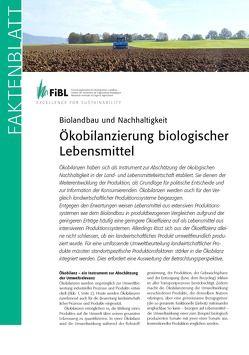 Ökobilanzierung biologischer Lebensmittel von Hörtenhuber,  Stefan, Meier,  Matthias, Schader,  Christian, Stolze,  Matthias