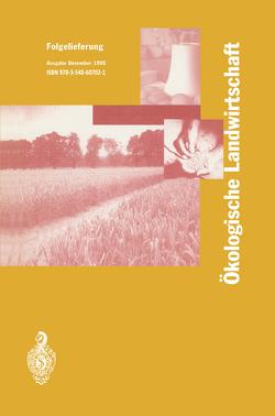 Ökologische Landwirtschaft von Battaglia,  Reto, Pfannhauser,  Wener
