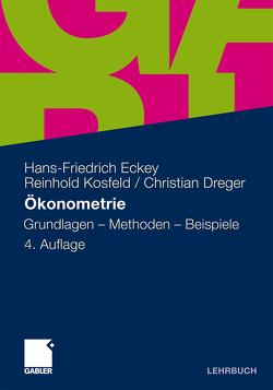 Ökonometrie von Dreger,  Christian, Eckey,  Hans Friedrich, Kosfeld,  Reinhold