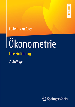 Ökonometrie von von Auer,  Ludwig