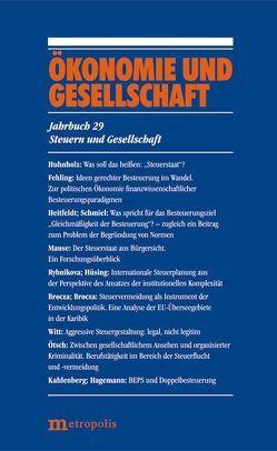Ökonomie und Gesellschaft / Steuern und Gesellschaft von Nienhüser,  Werner, Schmiel,  Ute