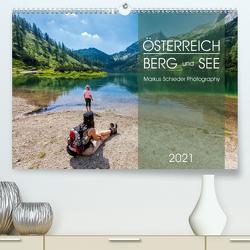 Österreich Berg und SeeAT-Version (Premium, hochwertiger DIN A2 Wandkalender 2021, Kunstdruck in Hochglanz) von Schieder,  Markus