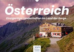 Österreich – Einzigartige Landschaften im Land der Berge. (Wandkalender 2019 DIN A3 quer) von Lederer,  Benjamin