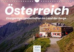 Österreich – Einzigartige Landschaften im Land der Berge. (Wandkalender 2019 DIN A4 quer) von Lederer,  Benjamin