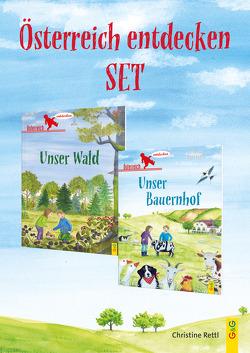Österreich entdecken Bauernhof/Wald Set von Baldrian,  Brigitte, Rettl,  Christine