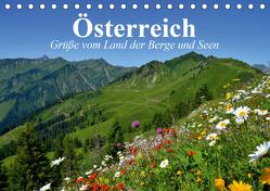 Österreich. Grüße vom Land der Berge und Seen (Tischkalender 2020 DIN A5 quer) von Stanzer,  Elisabeth