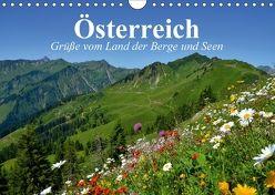 Österreich. Grüße vom Land der Berge und Seen (Wandkalender 2018 DIN A4 quer) von Stanzer,  Elisabeth