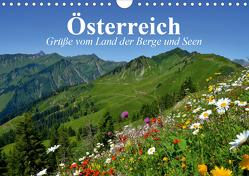 Österreich. Grüße vom Land der Berge und Seen (Wandkalender 2020 DIN A4 quer) von Stanzer,  Elisabeth