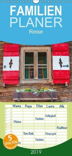 Österreich Rundreise – Familienplaner hoch (Wandkalender 2019 , 21 cm x 45 cm, hoch) von Ristl,  Martin