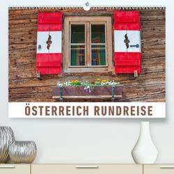 Österreich Rundreise (Premium, hochwertiger DIN A2 Wandkalender 2021, Kunstdruck in Hochglanz) von Ristl,  Martin