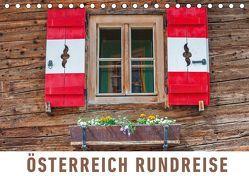 Österreich Rundreise (Tischkalender 2019 DIN A5 quer) von Ristl,  Martin