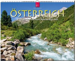Österreich – Vom Bodensee zum Neusiedler See von Siepmann,  Martin